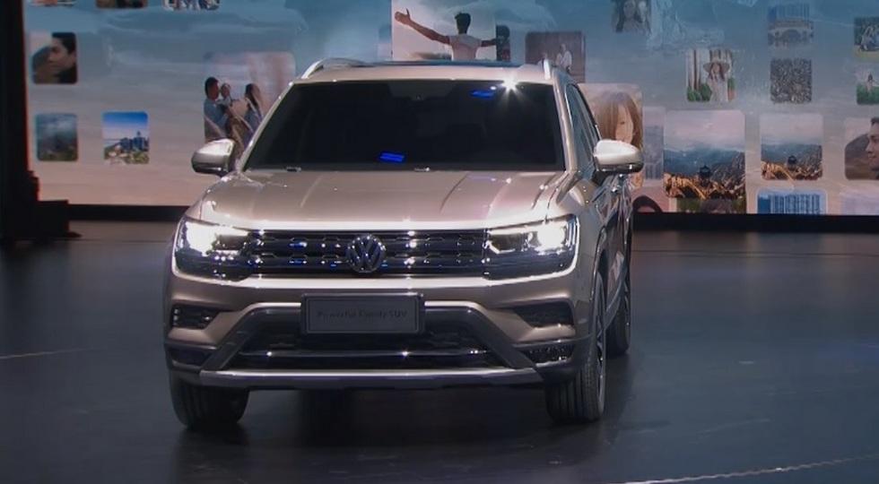 Volkswagen представила еще три новых кроссовера