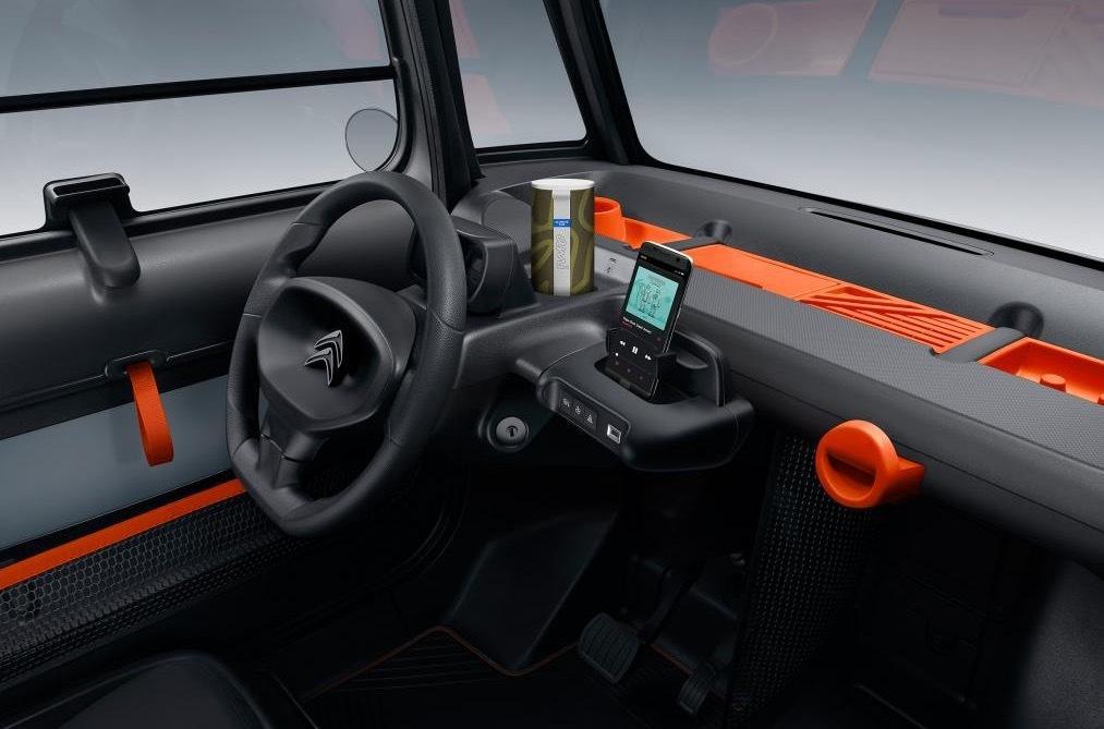 В Citroen придумали электрокар, на котором можно ездить без прав