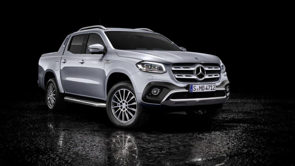 Mercedes покажет вЖеневе дизельную версию пикапа X-Class