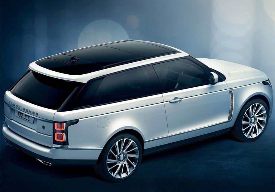 Range Rover в Женеве представила двухдверный внедорожник SV Coupe