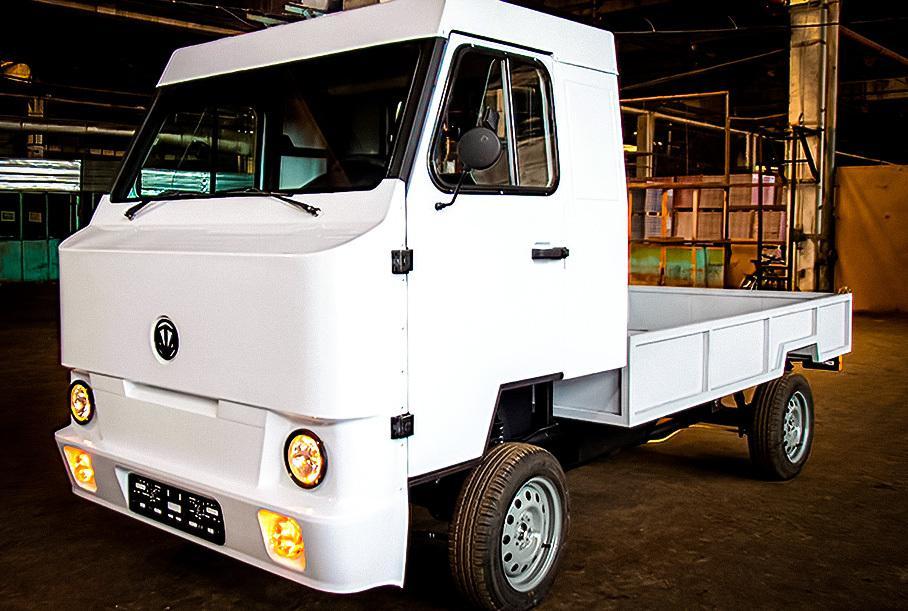 Инженеры в Киргизии разработали бюджетный электрический грузовик Kami Nimble