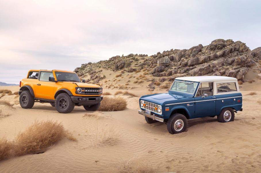Сайт Ford обрушили желающие купить новый Bronco