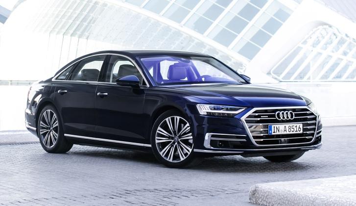 В России начали продавать дизельный седан Audi A8