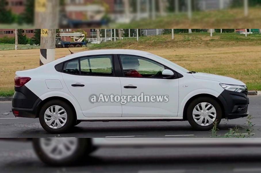 АВТОВАЗ вывел на тесты седан Renault Logan следующего поколения