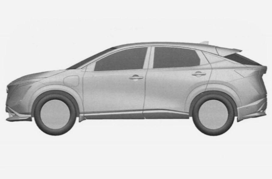 Появились изображения серийной версии Nissan Ariya