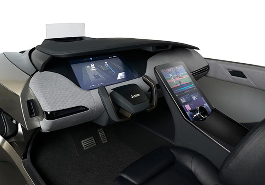 Mitsubishi Electric создала свой первый беспилотный электрокар Emirai 4