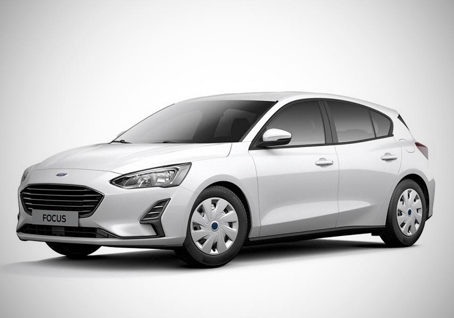 Появились фотографии самой «бедной» версии нового Ford Focus