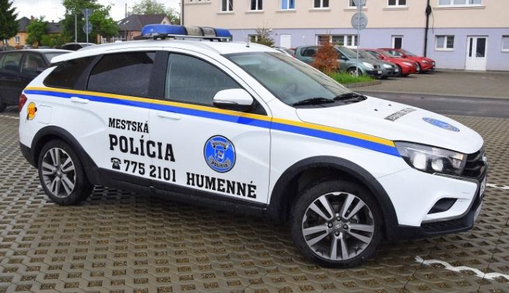 Отечественная LADA Vesta поступила на службу в полицию Словакии