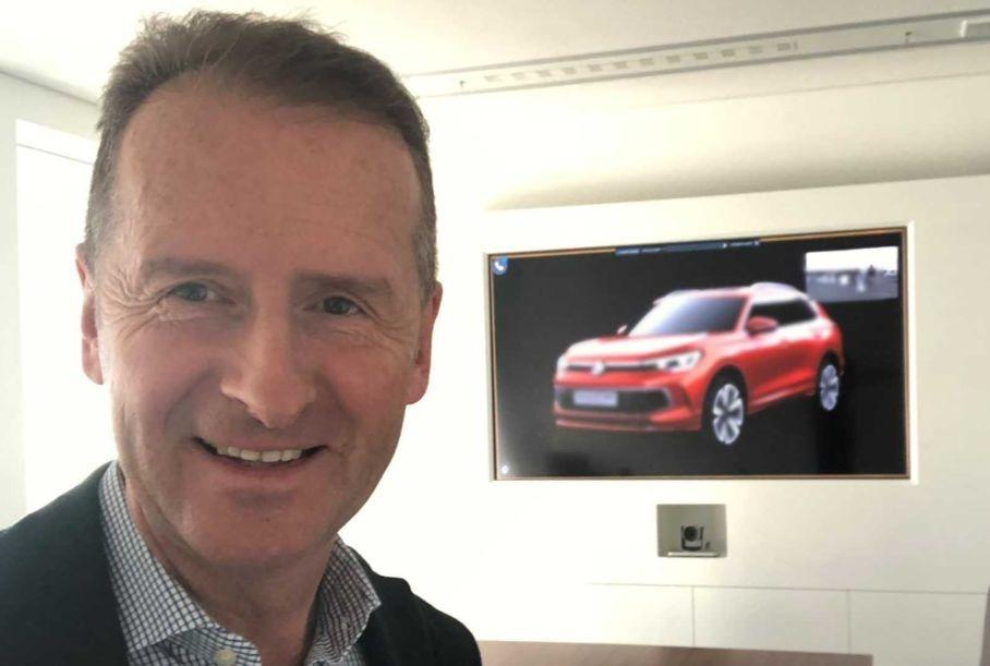 Глава Volkswagen случайно раскрыл внешность Volkswagen Tiguan