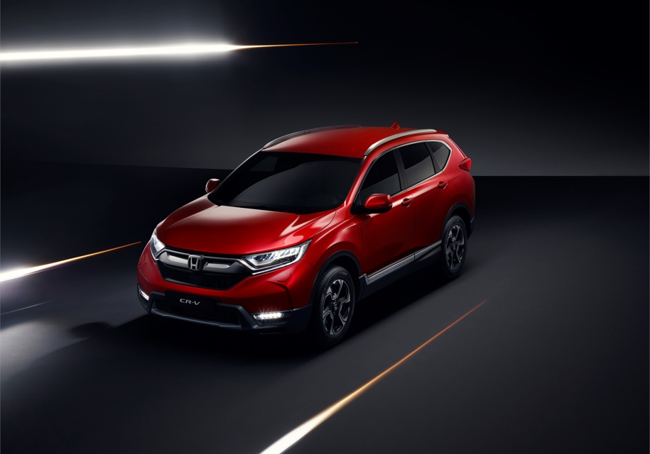 Honda анонсировала семиместную гибридную версию кроссовера CR-V