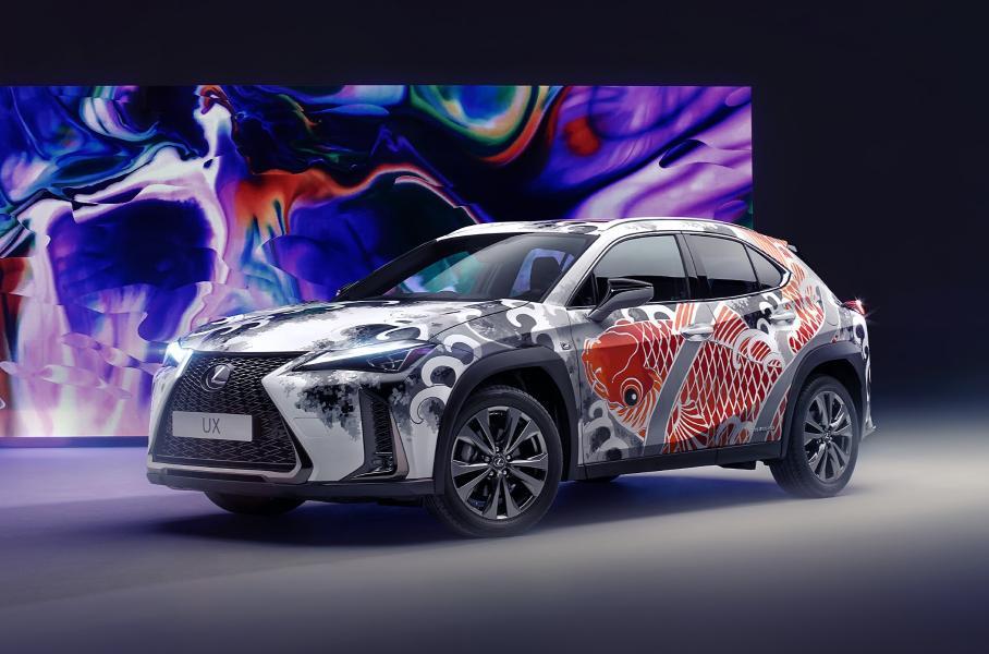 Lexus представил первый в мире «татуированный» Lexus UX