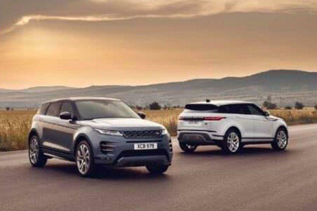 В Сети появились первые фотографии нового поколения Range Rover Evoque