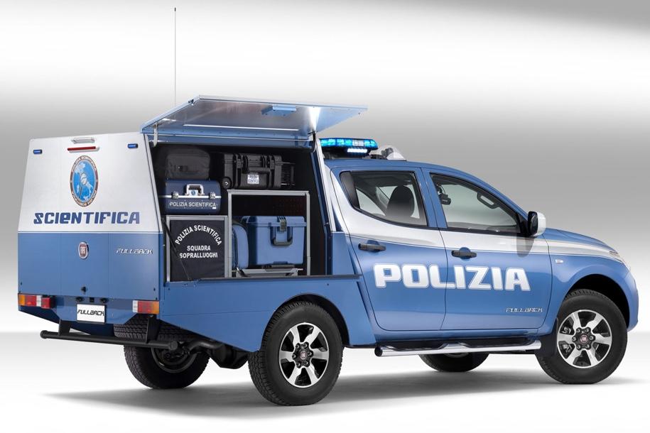 Fiat создал пикап Fiat Fullback для криминалистов