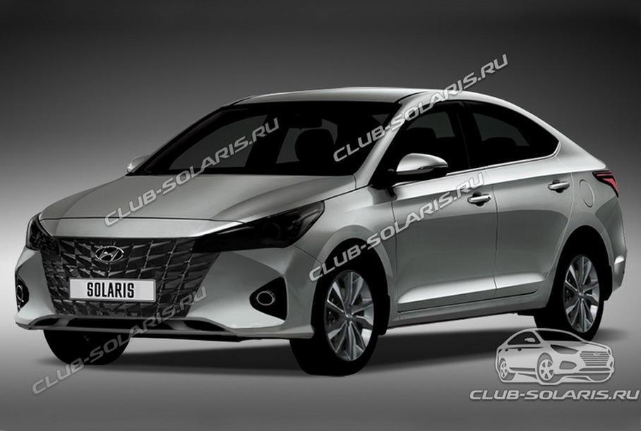 В России скоро появится обновленный Hyundai Solaris