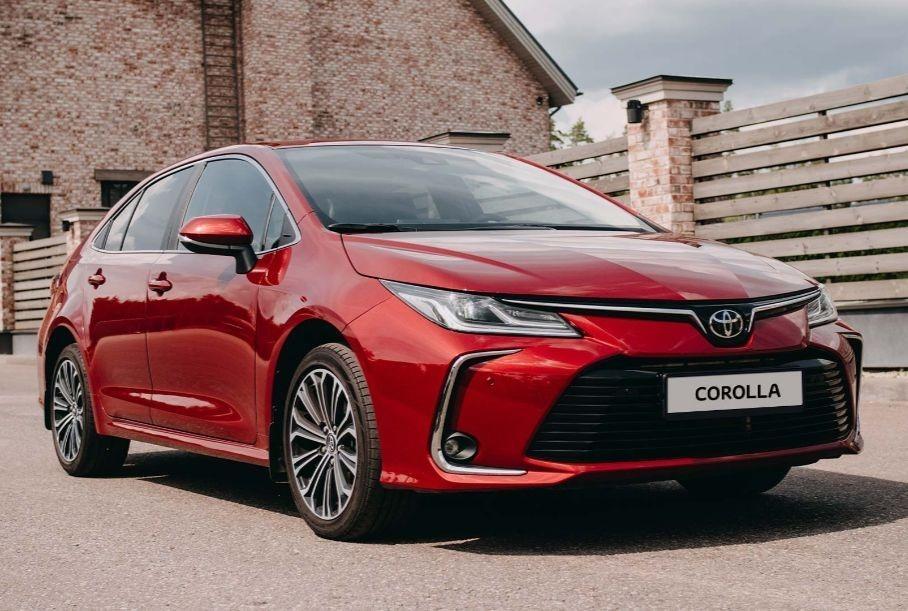 В РФ Toyota начала продажи обновлённой Toyota Corolla