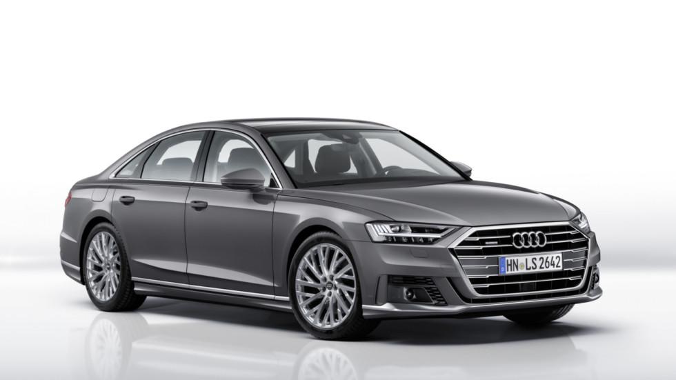 Седан Audi A8 в качестве опции получил пакет Sport Exterior