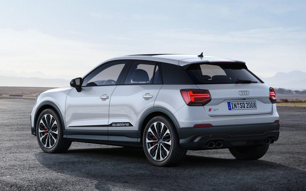 «Заряженный» кроссовер Audi SQ2 оценили от 3,3 млн рублей