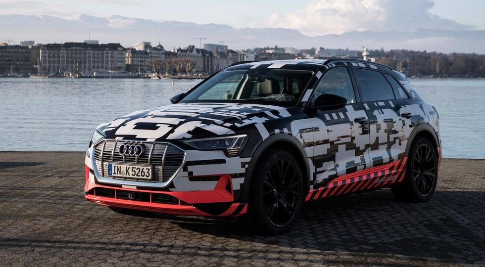 Еще не представленный кроссовер Audi стал доступен для заказа