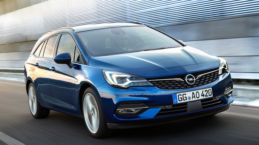 Opel представила обновленную Opel Astra