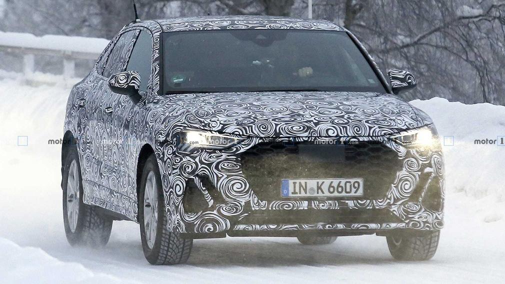 Испытывается прототип нового Audi Q4