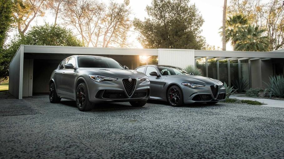 Alfa Romeo привезла в Нью-Йорк новые модификации Stelvio и Giulia