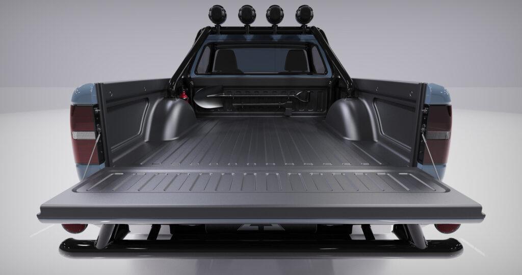 Компания Alpha Motor представила новый электрический пикап
