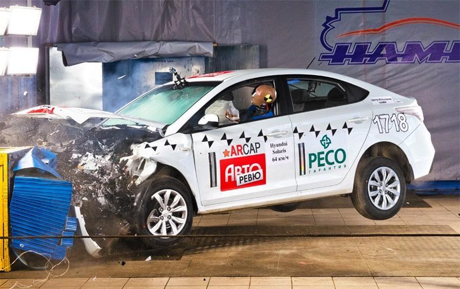 Составлен ТОП-10 самых безопасных автомобилей на российском рынке