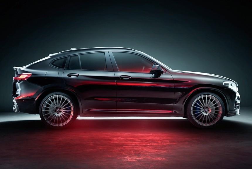 Компания Alpina выпустила новый кроссовер BMW Alpina XD4