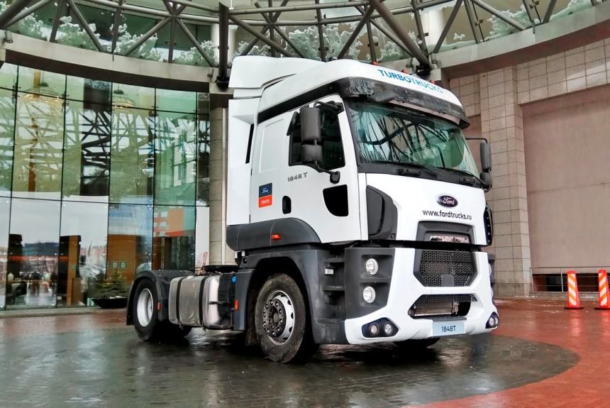 Обновленная версия грузовика Ford Cargo будет выпускаться в России