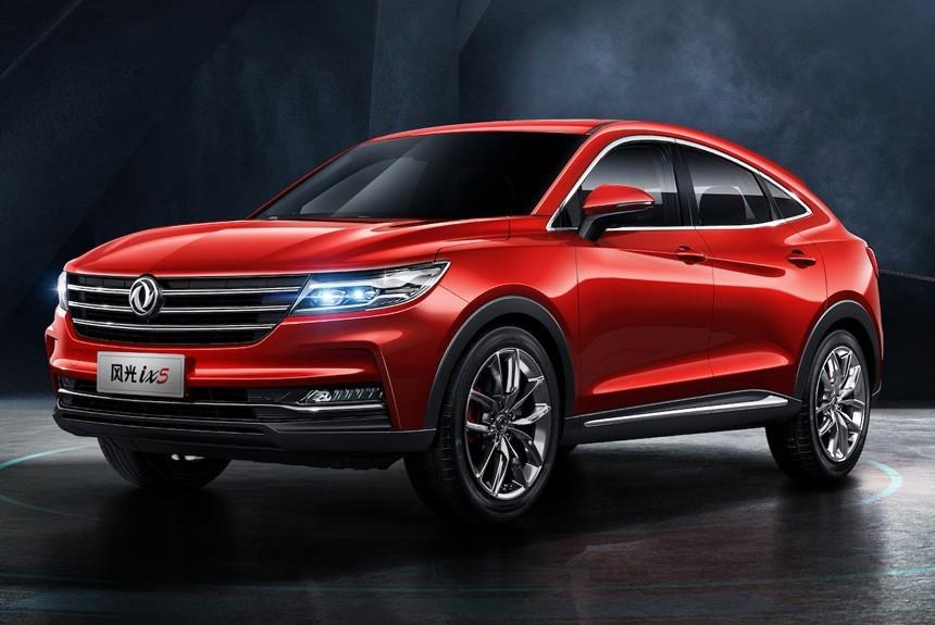 Китайский конкурент BMW X4 будет представлен на мотор-шоу в Чэнду