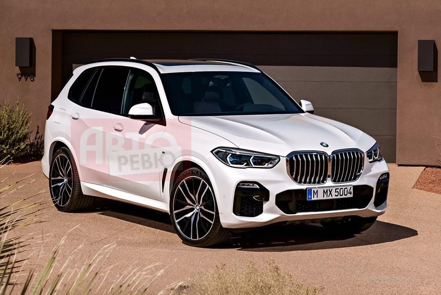 В Сети появились первые фото нового BMW X5 без камуфляжа