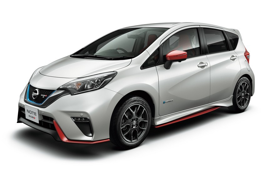 Nissan в Японии предложила хэтчбек Nissan Note e-Power Nismo S