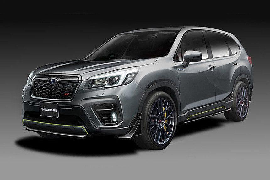 Subaru в Токио покажет концепт-кары Subaru Forester STI и Impreza STI