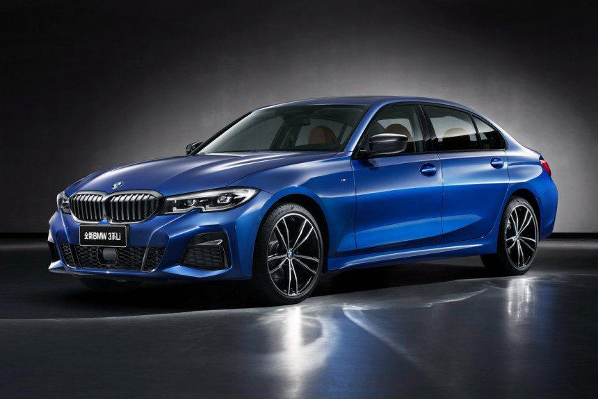 Седан BMW 3-Series получил удлиненную модификацию для Китая