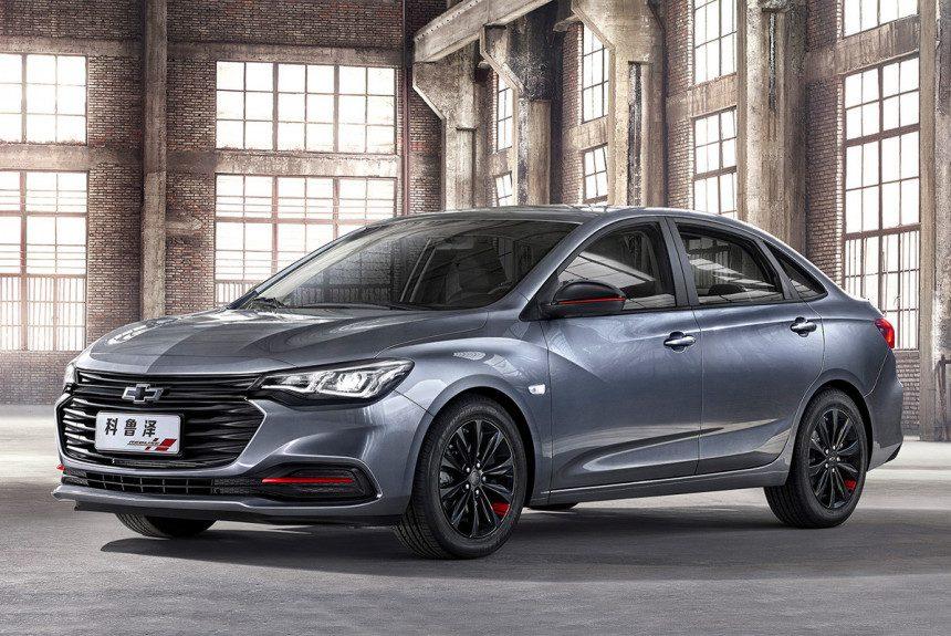 Новый седан Chevrolet Monza получит небогатое оснащение