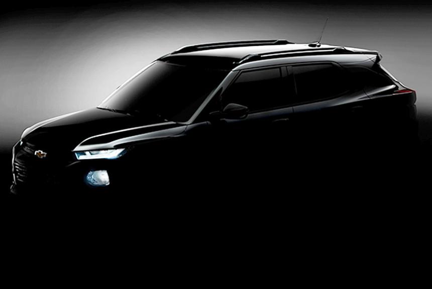 Chevrolet показала на тизере новый кроссовер Chevrolet TrailBlazer