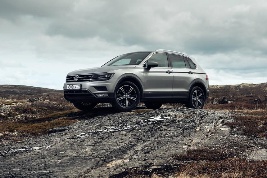 Volkswagen Tiguan в России обзавелся «зимней» спецверсией