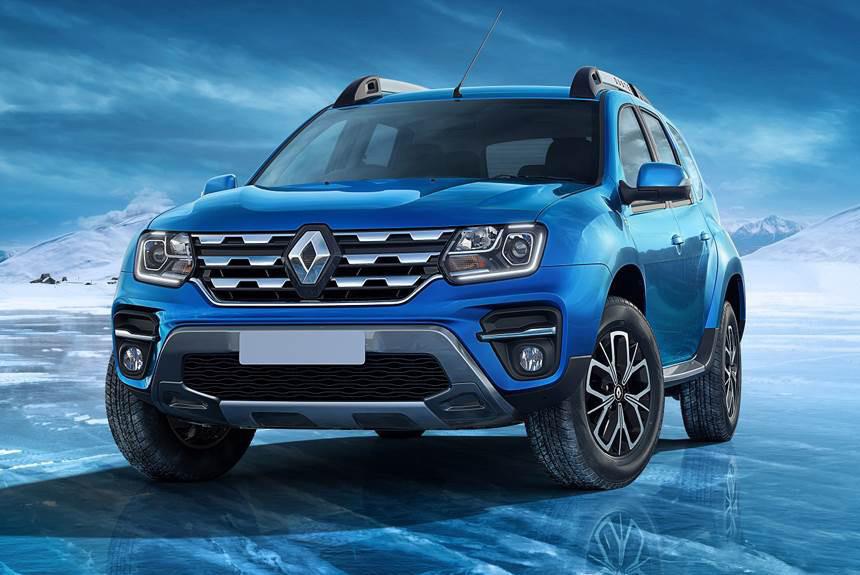 Renault обновил Renault Duster первого поколения