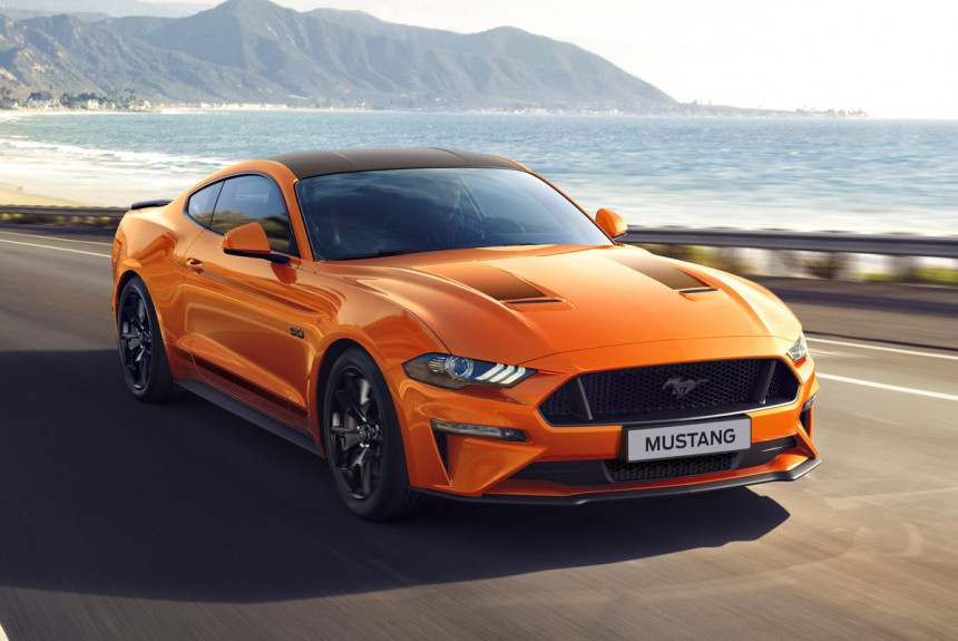 Ford выпустил юбилейный Ford Mustang для Европы