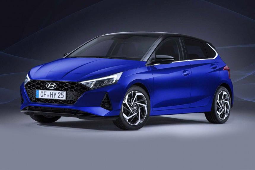 Опубликованы первые фотографии нового Hyundai i20