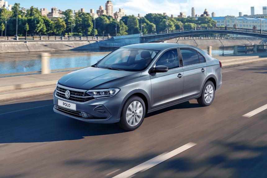 Volkswagen назвал комплектации нового Polo для РФ