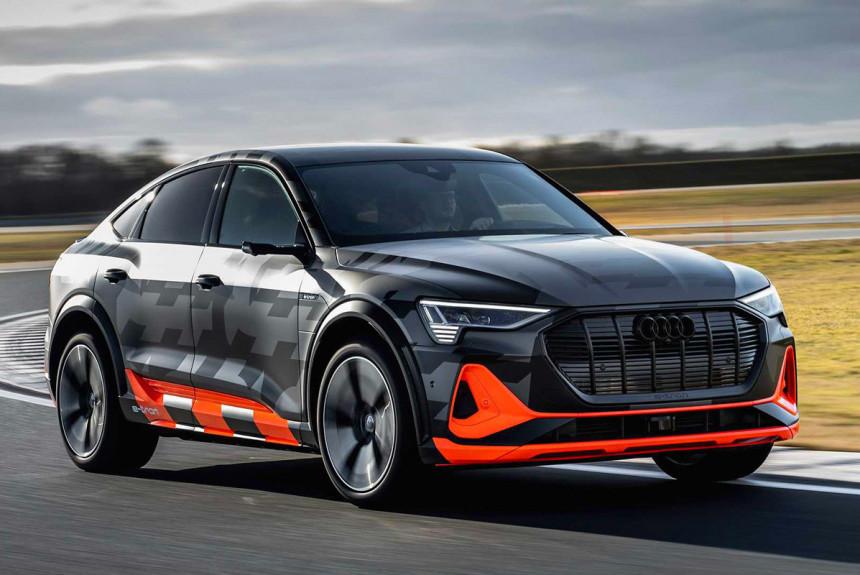 Audi добавила третий электромотор в установку Audi e-tron S