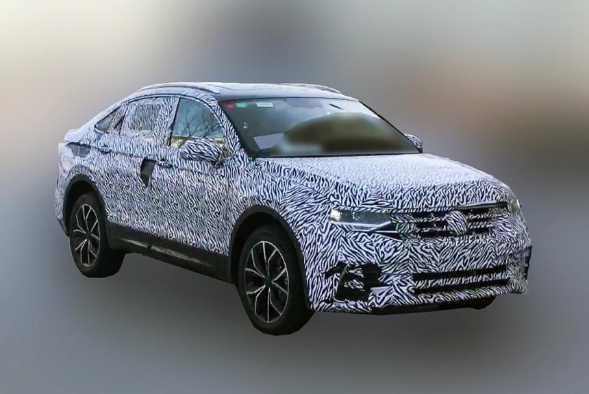 Volkswagen тестирует новый кросс-купе Tiguan X