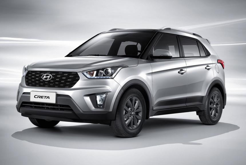 Hyundai анонсировала обновленную Hyundai Creta для России