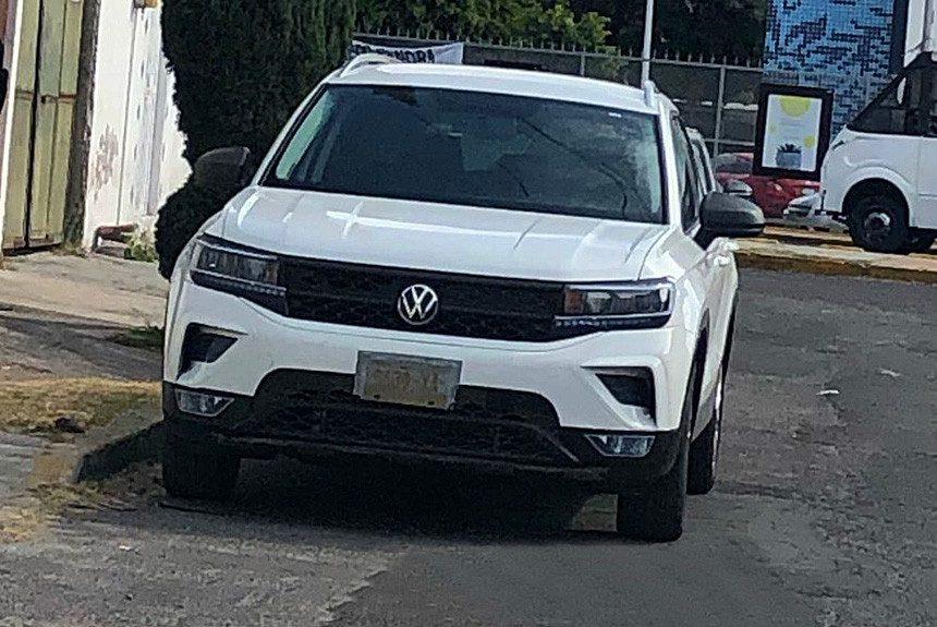 Сфотографировали новый кроссовер Volkswagen для России