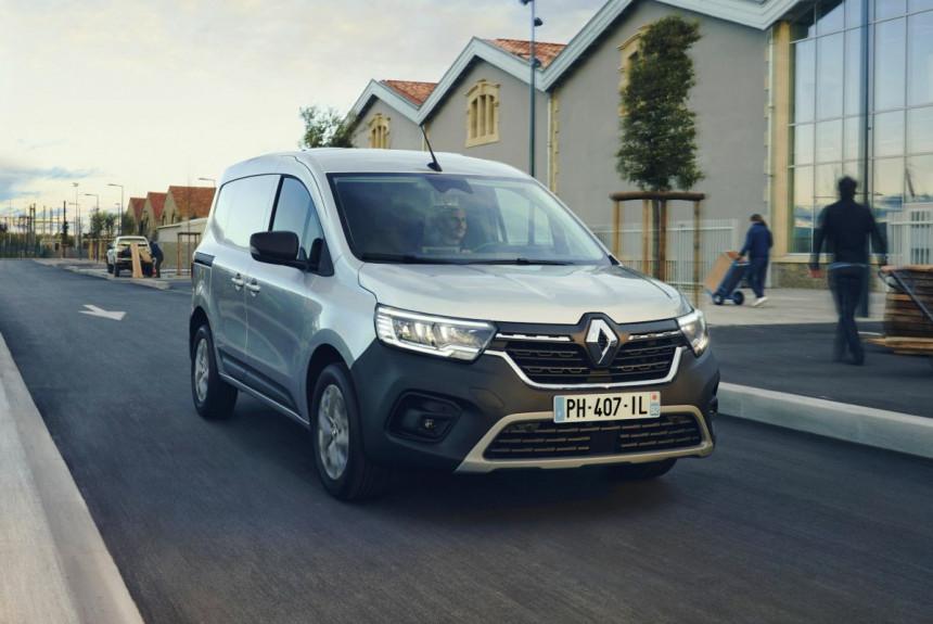 Renault представил обновленные фургоны Renault Kangoo и Express 2021 года