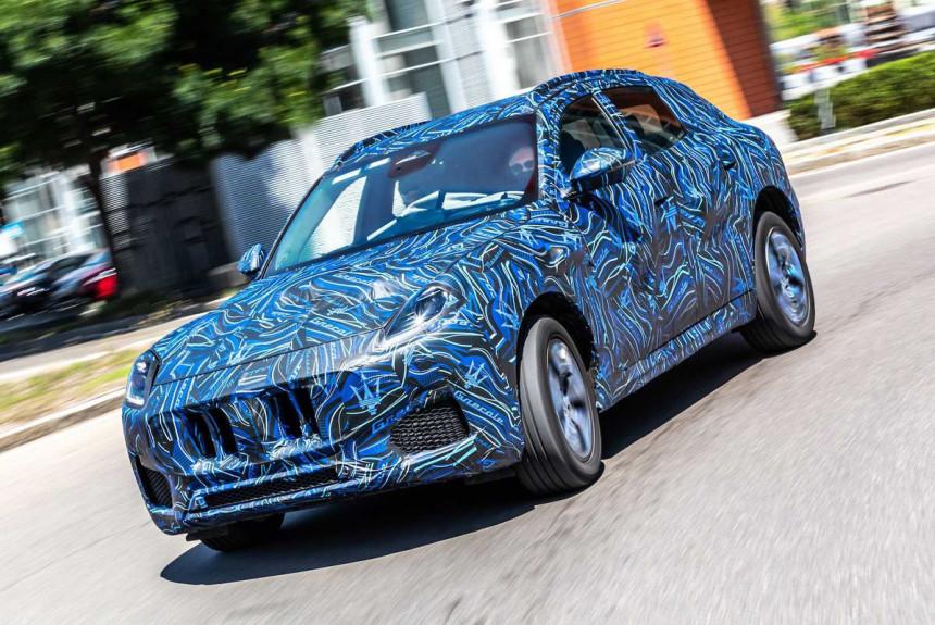 Новый кроссовер Maserati Grecale дебютировал на официальных фото