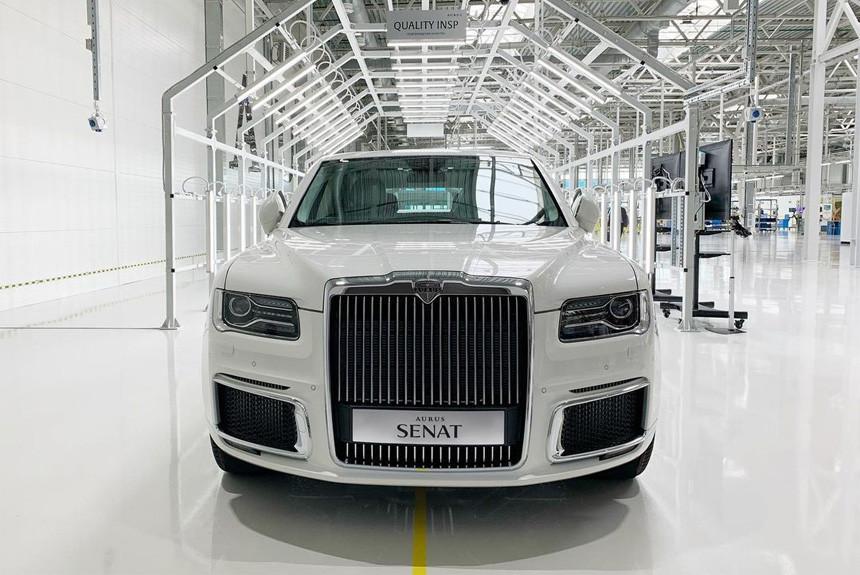На серийное производство автомобилей Aurus в Елабуге потратили 2,5 млрд рублей