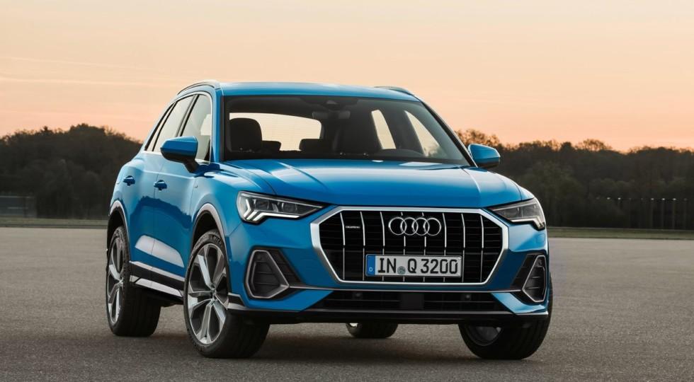 В РФ стартовал приём заказов на новый Audi Q3 с полным приводом