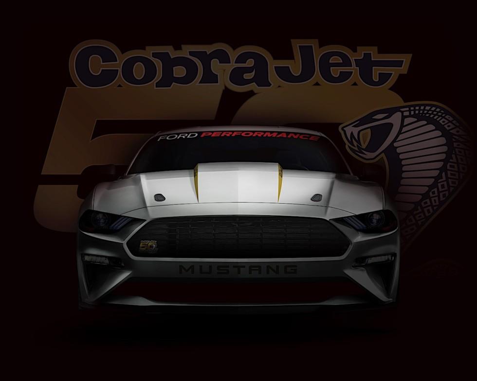 Ford создала юбилейную версию модели Ford Mustang Cobra Jet